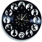 Smotly Vinilo Pared Reloj, Mickey Mouse de la Vendimia Pared Reloj, Dibujos Animados de Disney Reloj Regalos de cumpleaños He