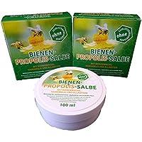 Bienen Propolis Salbe 100ml von Bienen Diätic ohne Konservierungsstoffe 3 Stück preisvergleich bei billige-tabletten.eu