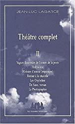 Théâtre complet, volume 2