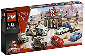 Lego Cars - 8487 - Jeu de Construction - Le Café V8 de Flo