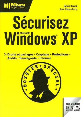 Sécurisez Windows XP
