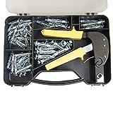 405504tasselli da cartongesso pinze Tool kit di fissaggio 72PC
