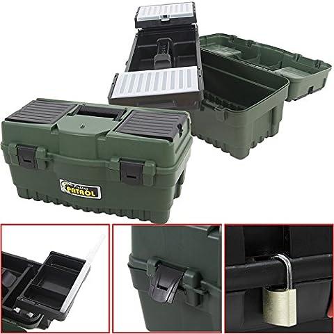 Anglerkoffer Formula Box A 600, 55x27cm Werkzeugkoffer Kasten Werzeugkiste Sortimentskasten Angelkoffer