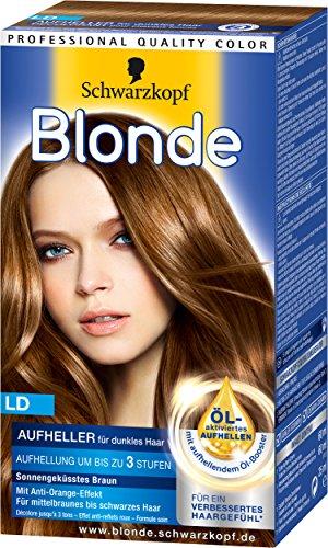 Blonde LD Aufheller für dunkles Haar, 3er Pack (3 x 142 - Dunkel Blond Haarfarbe