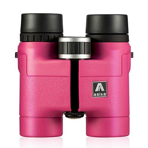 BNISE® - 8X32 Fernglas - Leichtes Kompaktes Gehäuse aus Magnesiumlegierung - klein für kinder Ferngläser - Asika Mehrfach vergütete Optik und Phase Beschichtet BaK-4 Prismen - Helle und Unverzerrtes Bild (Kompakte Wander-ferngläser)