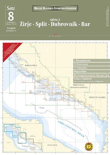 Preisvergleich Produktbild Satz 8: Žirje - Split - Dubrovnik - Bar (2013/2014): Adria 2