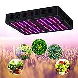 LED Grow Light, Lampe Réflecteur-Series1200w Full Spectrum Dual Chip Haute Puissance Pour Grow Tent & Greenhouse, Pour Hydroponique Vegetable Flower Budding & Seeding...