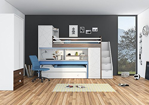hochbett mit treppe top 10 und kaufberatung im august 2018. Black Bedroom Furniture Sets. Home Design Ideas
