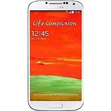 Samsung Galaxy S4 Smartphone (12,7 cm (5 Zoll) Super AMOLED-Touchscreen, 16 GB interner Speicher, 13 Megapixel-Kamera, LTE, Android 4.4) weiß [EU-Version]