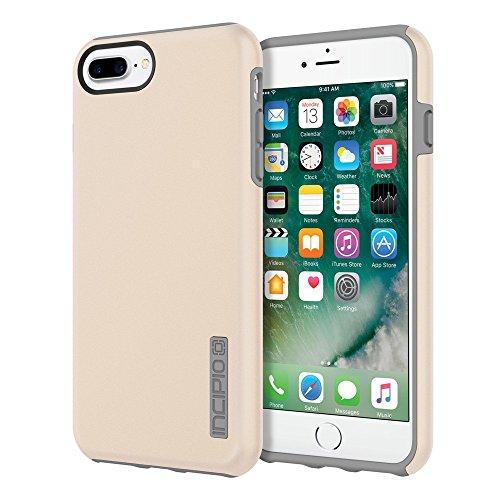 Incipio DualPro Fall Original Dual Layer Schutz für Apple iPhone 7Plus/iPhone 6Plus/iPhone 6S Plus-Irisierend Champagner Quarz/grau