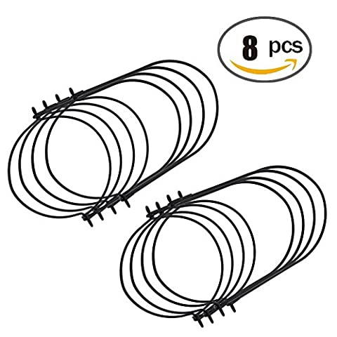 Admoz Mason Bocal de boule Fil Poignées Handle-ease 8-Pack Bouche (regular)