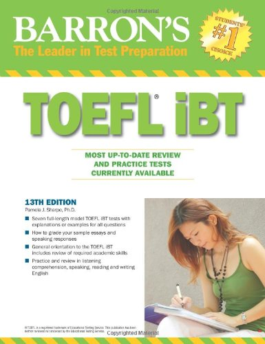 TOEFL iBT: Internet-Based-Test (Barron's TOEFL IBT)