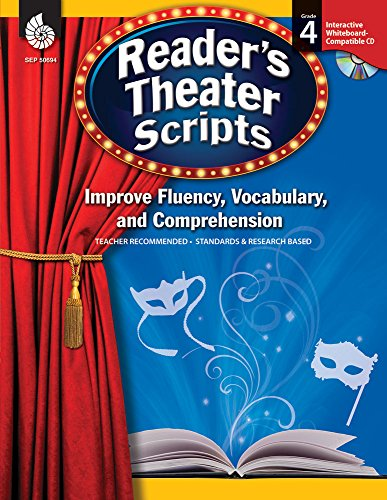 Reader\'s Theater Scripts: Improve Fluency, Vocabulary, and Comprehension: Grade 4 (English Edition)