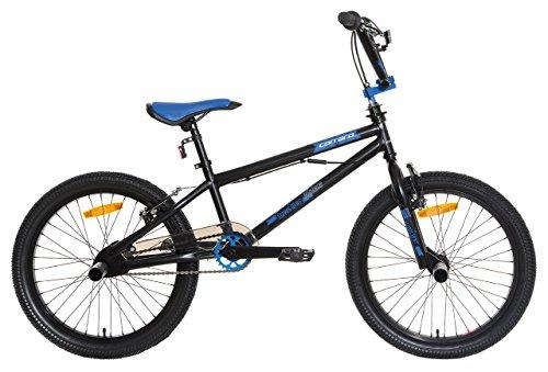 Carraro Violate, Bicicletta BMX Bimbo, Nero/Blu, S