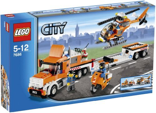 LEGO-City-7686-Helicopter-Transporter