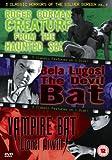 3 Classic Horrors Of The Silver Screen - Vol. 5 - Creature From The Haunted Sea / The Devil Bat / Vampire Bat [DVD]