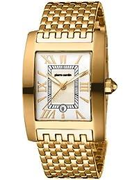 Pierre Cardin PC101301F07 - Reloj de caballero de cuarzo, correa de acero inoxidable color oro