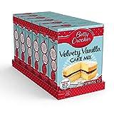Betty Crocker Velvety Vanilla Cake Mix 425g (Pack of 6)