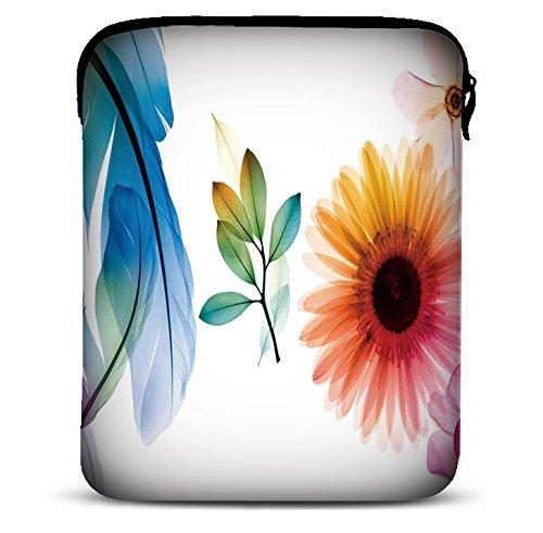 MySleeveDesign 9,7-10,5 Zoll Tablet Hülle Sleeve Kompatibel Mit Samsung Galaxy Tab 4 3 S Apple iPad Pro & Air Lenovo A10 Acer Aspire Note 3 Asus Sony uvm. - Sunflower [10]