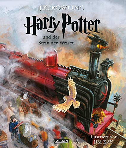 Harry Potter und der Stein der Weisen (farbig illustrierte Schmuckausgabe) (Harry Potter 1) - New York Werfen