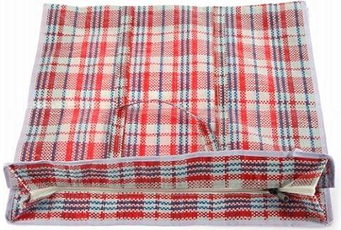 Extra Fort Petit Cabas à linge ou sac de rangement de haute qualité PVC résistant Carreaux réutilisable