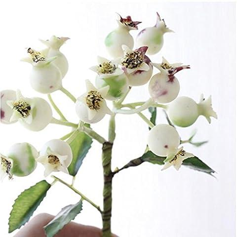 GT Künstliche Blumen Weihnachten Obst, kleine Granatapfel, simulation Obst, Blumen Zubehör