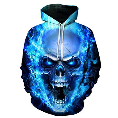 dies 3D Sweatshirts Men Women Loose Tracksuits Autumn Winter Coat Streetwear Funny Jackets XXL ()