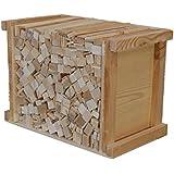 5 kg, leña, palos pequeños, excelente calidad de abeto secado - alerce - pino. Ideal para el encendido de la madera fuego leña para la barbacoa o chimenea o una estufa.