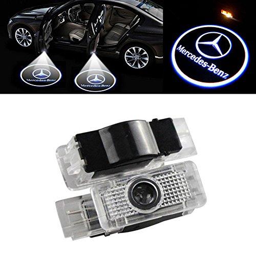 Wangziqi per proiettare il logo 2/luci LED per la portiera dell/'auto