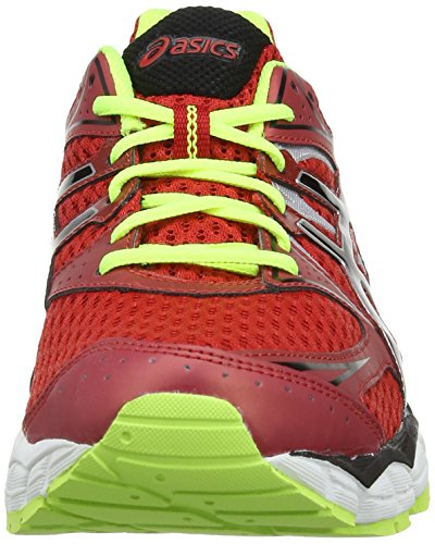 Asics - Gel-Pulse 6, Scarpe da corsa da uomo Chinese Red/Onyx/Flash Yellow 2399