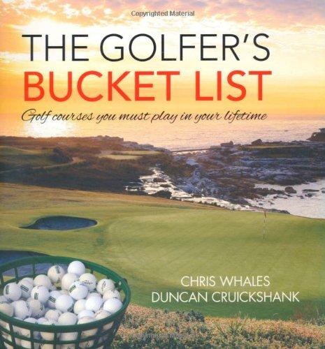 Golfers Bucket List