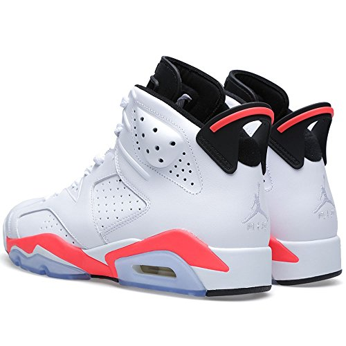 Nike Air Jordan Retro 6 Infrared 384664 123 white/infrared-black