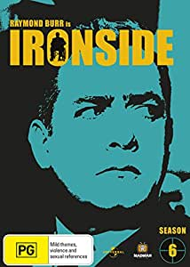 IRONSIDE - THE COMPLETE SIXTH SEASON (7DVDS) (PAL) (REGION 4)