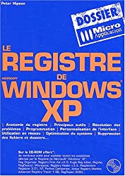 Le registre de Microsoft Windows XP