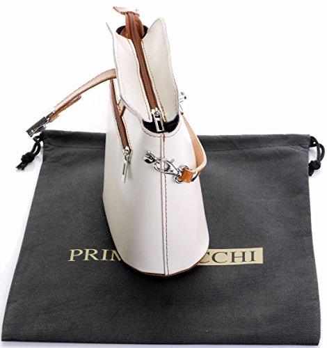 Descontar Muchos Tipos De Descontar Más Reciente Fatta piccola croce corpo o borsa a tracolla borsa a mano pelle liscia italiana.Include una custodia protettiva marca Crema & Tan vK1rXf