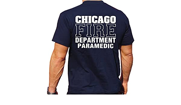 PARAMEDIC with Chest Maltese Cross Emblem with Staff 1//2 feuer1 T-Shirt with New York City Fire Dept