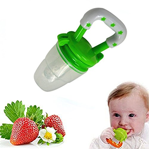 Hosaire Baby Schnuller Kinder Beruhigungssauger Kreativ Silikon Schnuller für 6-18M Mädchen,Junge(Grün)