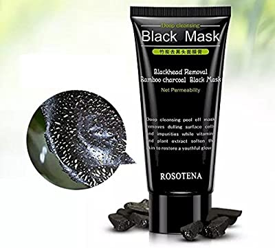Charcoal Activated Black Mask Blackhead Remover Peel Off Black Mask, Deep Cleanse Face Mask Cream, Deep Skin Cleansing ,Purifying Peel-off Acne Removal from Nose and Face