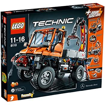 LEGO Technic 8110 Mercedes-Benz Unimog U 400: Amazon.co.uk