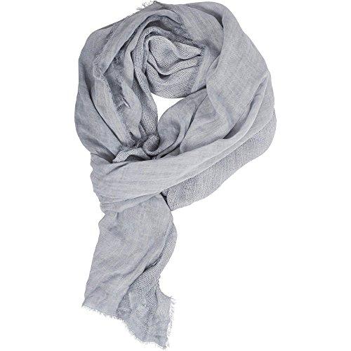 Urban Classics Unisex Schal Uni Colour Mesh, Grau (Grey 00111), One Size Preisvergleich
