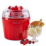 Andrew James Eismaschine mit 1,5 Liter Schüssel für Gefrorener Joghurt und Sorbet
