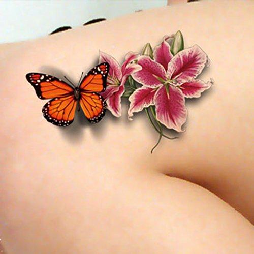 tafly-tatouage-temporaire-3d-transfert-du-body-art-papillon-et-fleurs-etanches-tatouages-autocollant
