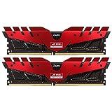 Team Group T della force Dark ROG Rosso, DDR4–3000, CL 16–16GB Dual di K immagine
