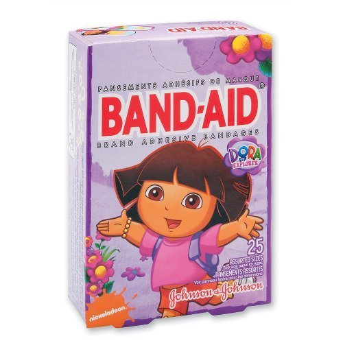 band-aid-dora-the-explorer-bandages-25-per-pack-by-smilemakers