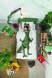 Snurk Dinosauro Copripiumino, Percalle, Bianco/Multicolore, Singolo, 220x140x0.4 cm