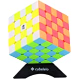 Cubelelo High Stability QiYi QiZheng S 5x5 Stickerless Speedcube Puzzle for Kids & Adults High Stability Magic Speedy Brainst
