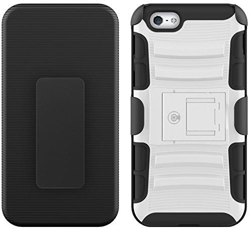 Kabel und Fall iPhone 6S Fall, [Klinge Series]–Heavy Duty Schutz vor Stürzen und–Auch Kompatibel mit Apple iPhone 6[Weiß]