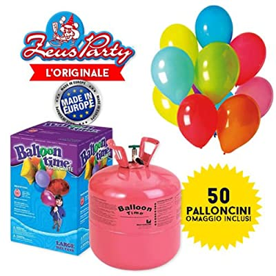 Kit Balloons And Helium Tank de Globolandia