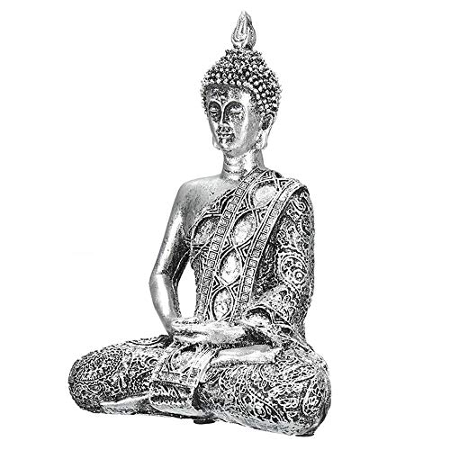 Thailand Buddha-statue (ZXPzZ Einzigartige Buddha Figur Thailand Feng Shui Skulptur Buddhismus Statue Budda Glück Ornamente Für Wohnkultur Handwerk Geschenke)