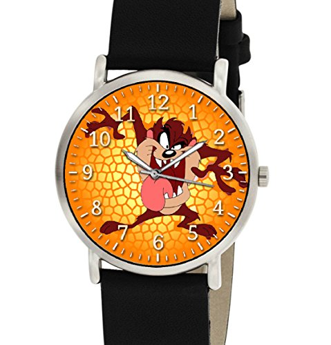 vintage-taz-the-tasmanian-devil-looney-tunes-comic-art-collectible-unisex-wrist-watch